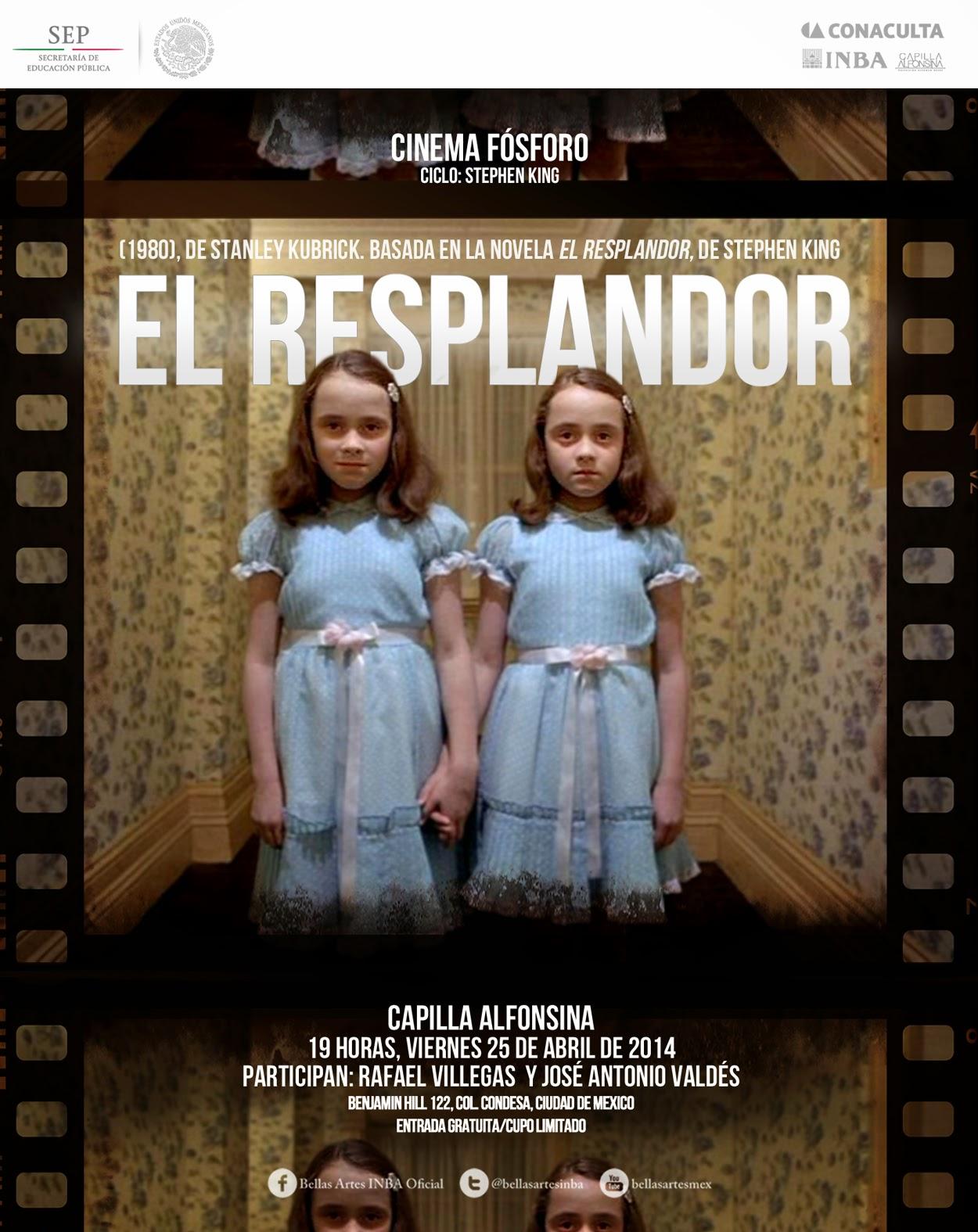 """El ciclo Cinema Fósforo presenta """"El resplandor"""" de Kubrick"""