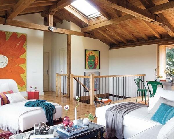 Estilo rustico casa rustica en el norte de espana for Casas de campo interiores