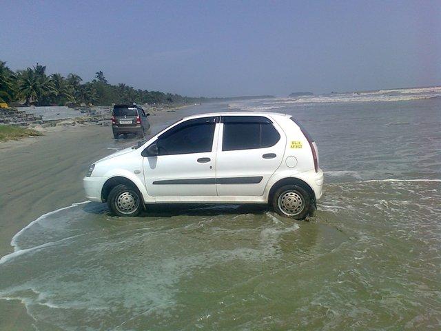 drive in beach