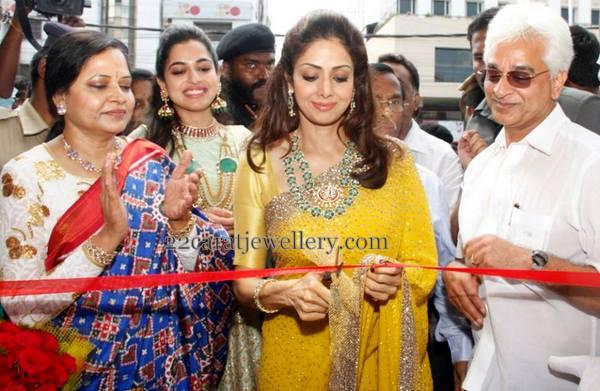Sridevi Kapoor at Vasundhara Exotic Jewellers