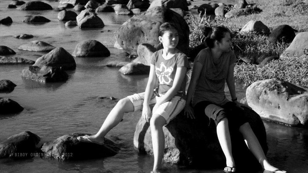 rocky river in Laguna