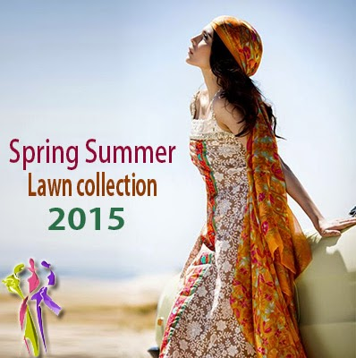 Sana Safinaz Lawn collection 2015 for Spring Summer Season
