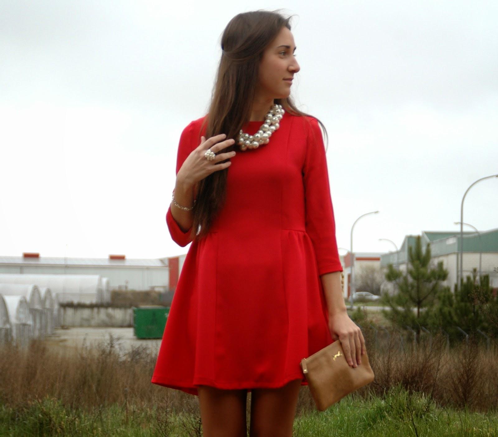 Outfit vestido rojo casual u2013 Vestidos de moda de esta temporada