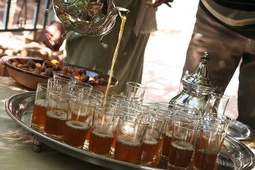 Ancora caldo? dopo i ghiaccioli... un bel tè alla menta!