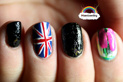 Manicurity: BFF Challenge - Punk! take 1