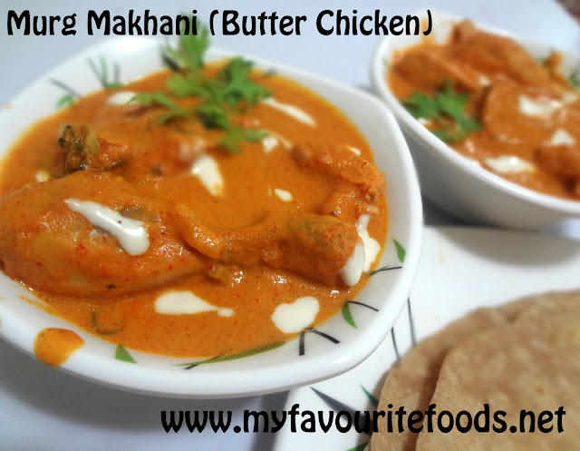 Murg Makhani /Butter Chicken