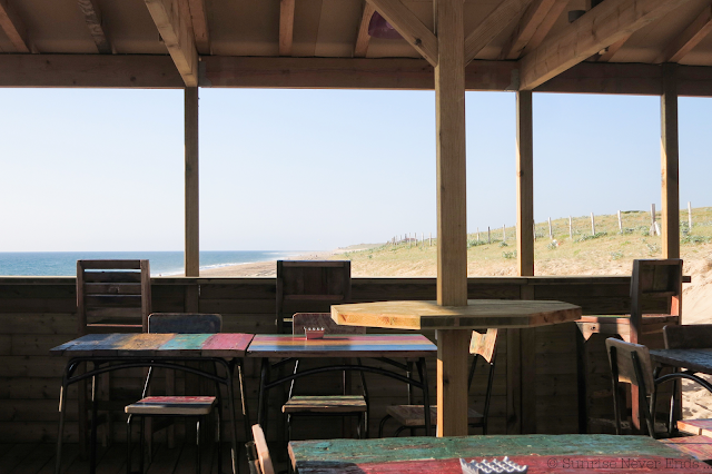 la gravière,hossegor,sunset beach,sunset,plage,bar,cabane de plage,beach shack
