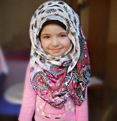 Trend hijab anak-anak