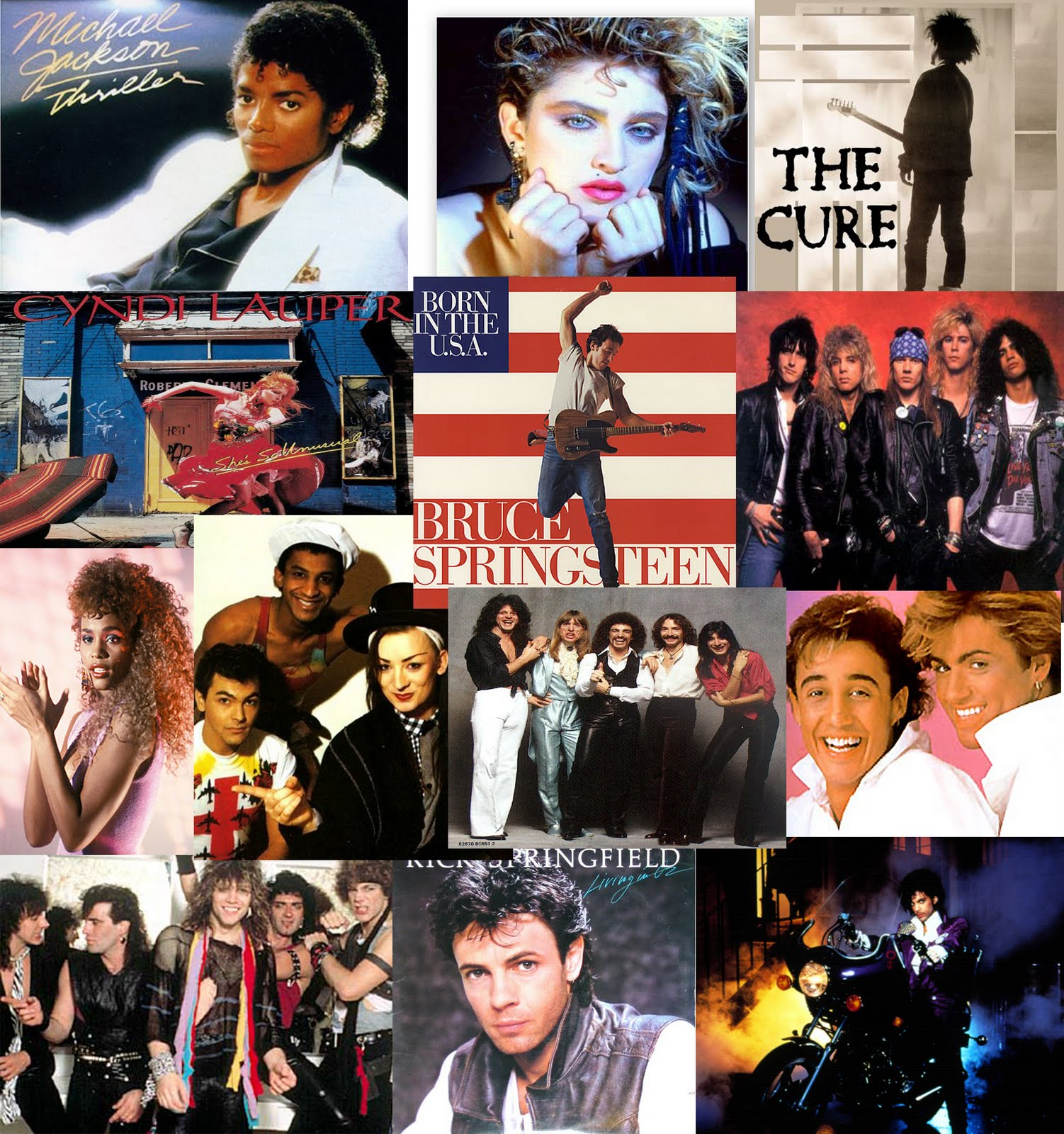 80s Music Collage Www Imgkid Com The Image Kid Has It