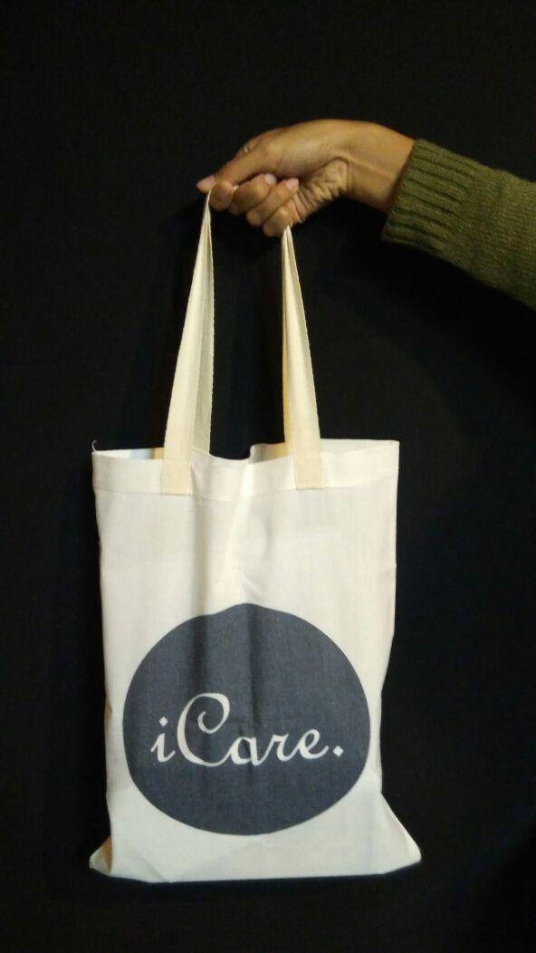 Dijual Tote Bag (Kantong Kain) iCare