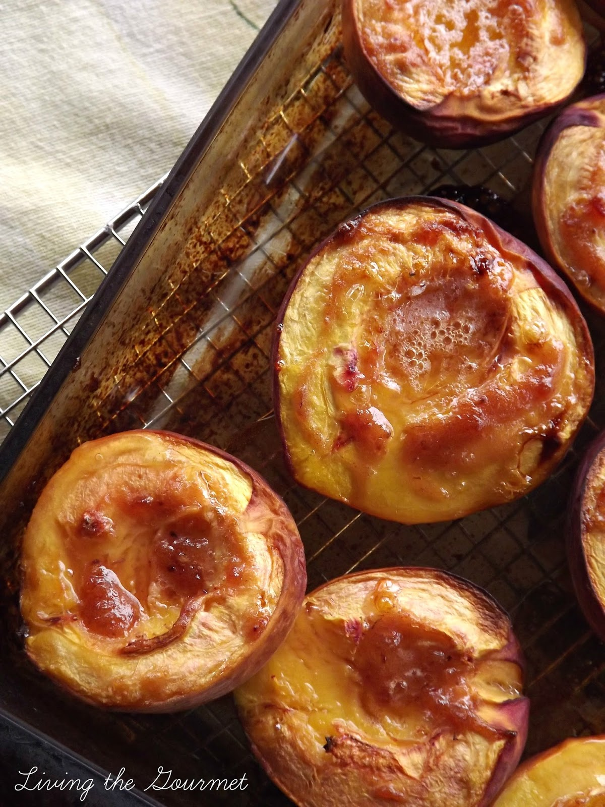 Baked Peaches By Tammy Living The Gourmet