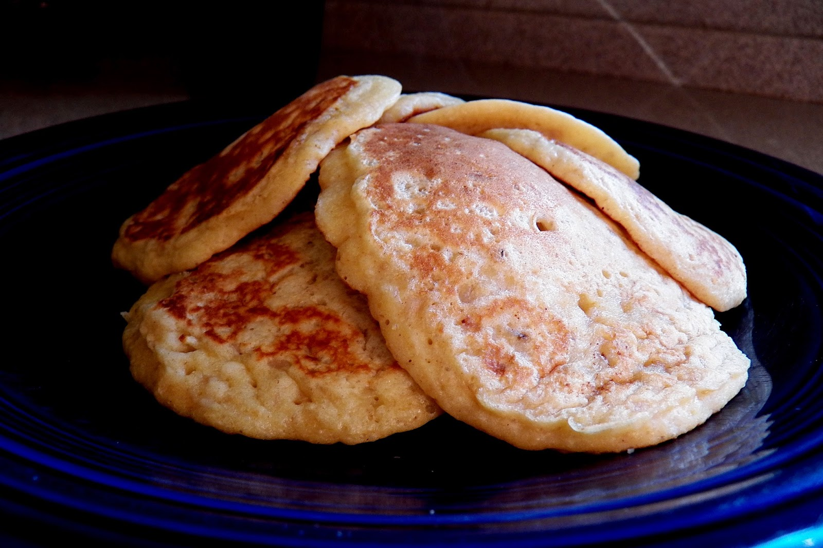 The Tasty Cheapskate: Oatmeal Pancakes (made with leftover oatmeal)