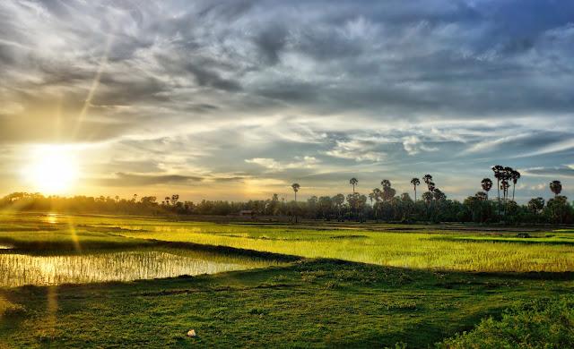 Photo du jour : Lever de soleil