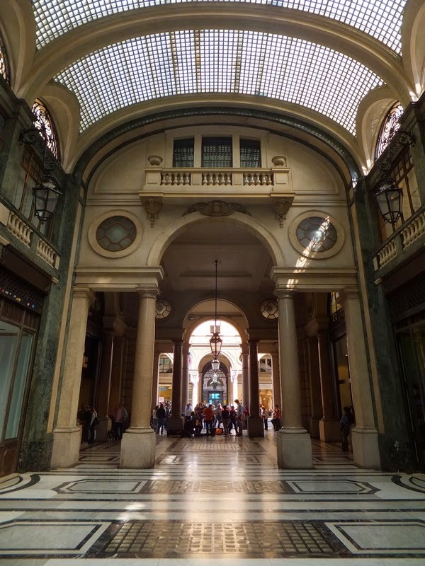Turin Italie galleria san federico
