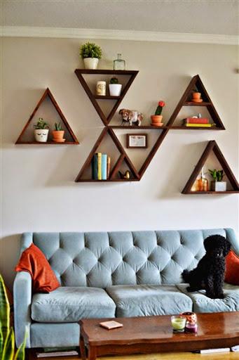 Contoh ide desain model hiasan dinding