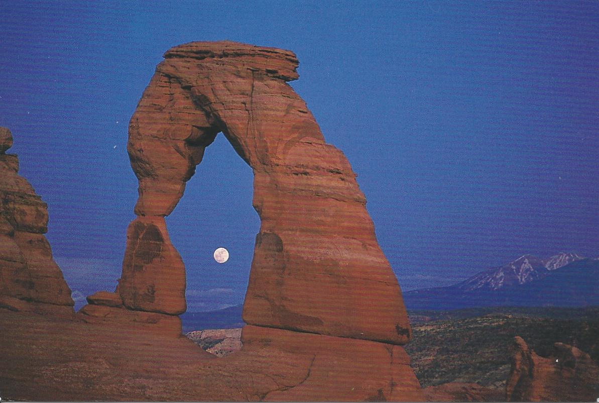 dewereldiskleinenmooi  Arches Nationaal Park, Kaart van Ellen uit Utah