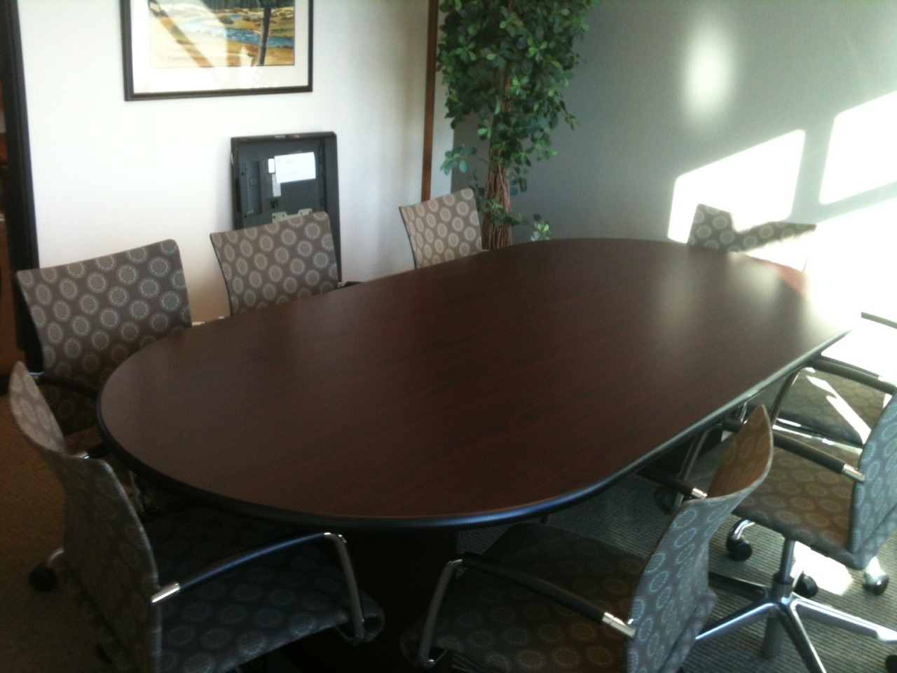 Design In My View Traditional Office Design Goes Modern - Craigslist conference table