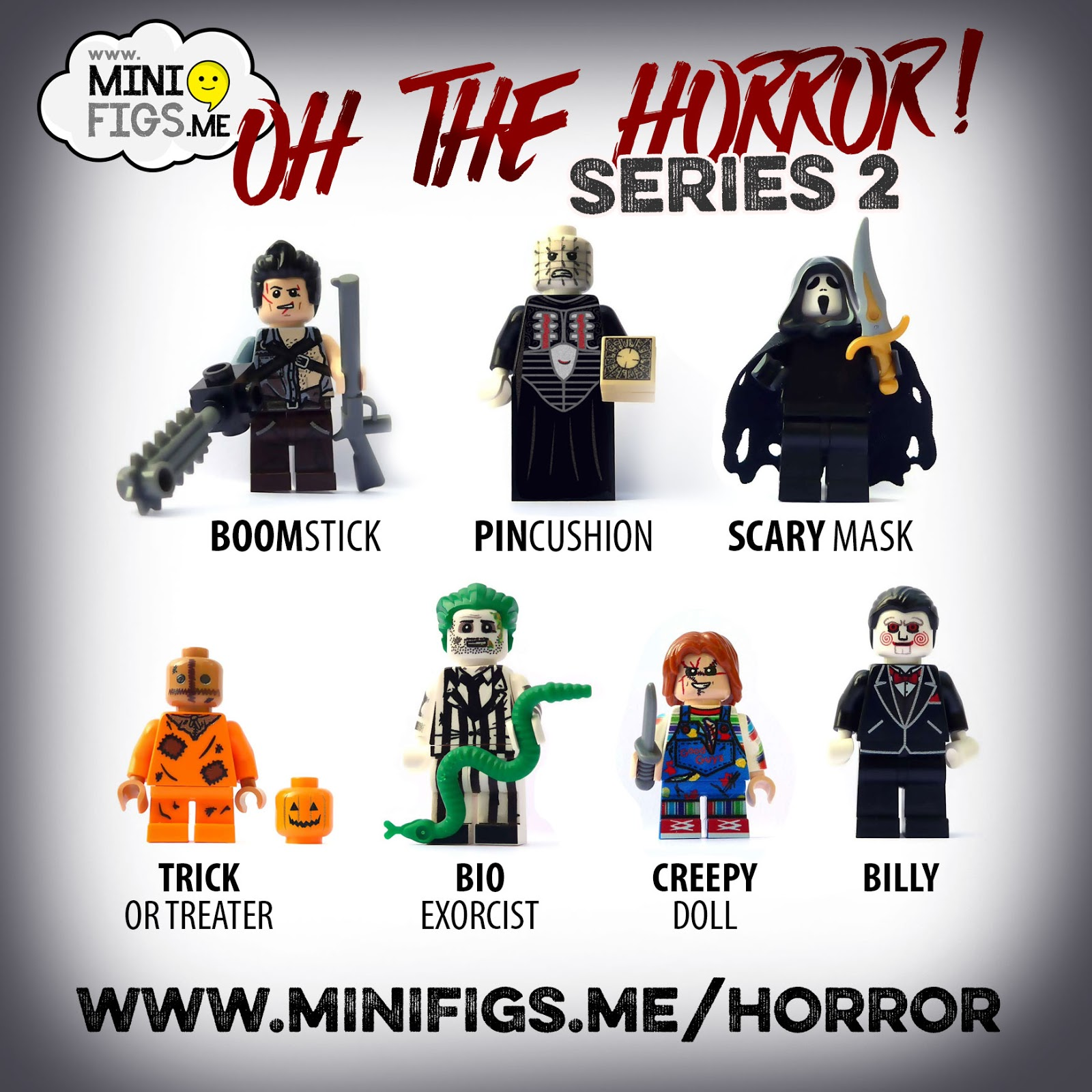 The Horrors of Halloween: Custom TRICK u0026#39;R TREAT Sam LEGO ...