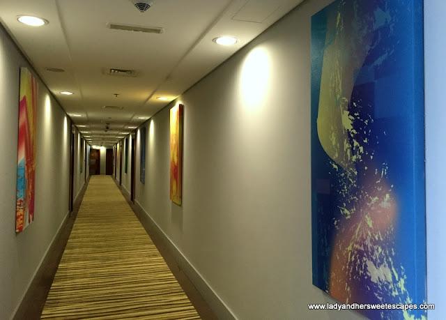 Adagio Fujairah hallway