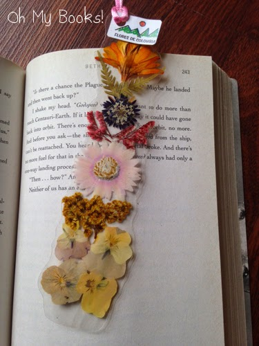 Bookmark Flowers from Colombia