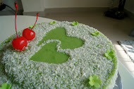 Pandan Layer Cake