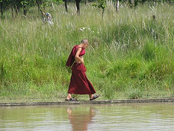 C mo practicar la meditaci n budista caminando como - Como practicar la meditacion en casa ...