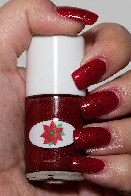 The Nail Junkie - Poinsettia