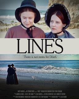 Lines, un court métrage sur Charlotte et Emily Bontë Linesposter