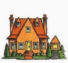 Gambar Rumah Kartun Klasik Minimalis