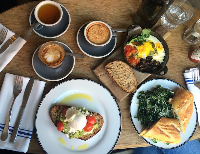 breakfast in manhattan best breakfast nyc brest brunch nyc new york city  avocado toast avocado smash mushroom baked beans eggs muffin organic gluten free latte art toastie australian fare australia yummy