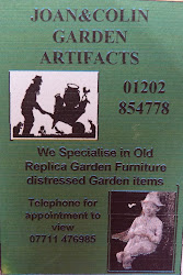 joan &amp; colin garden artefacts