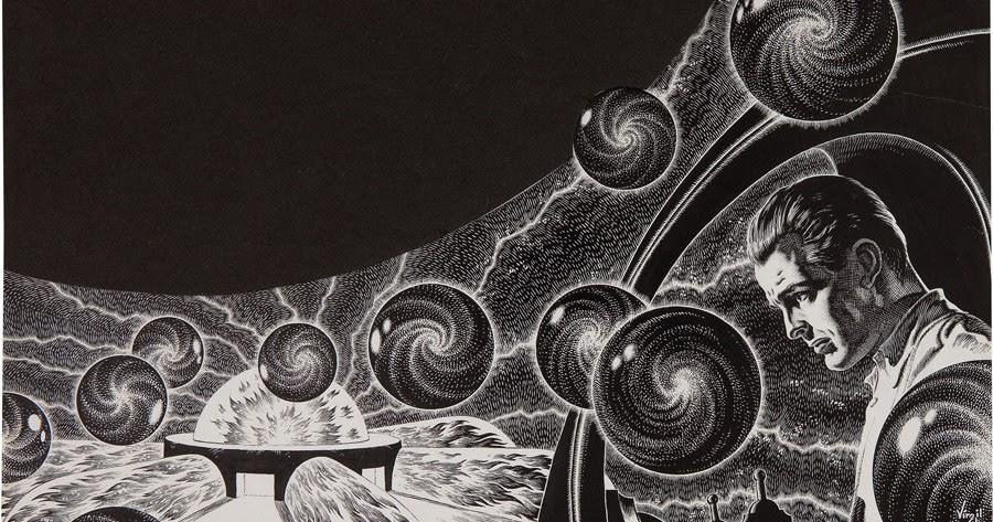 appendage virgil finlay illustration. Black Bedroom Furniture Sets. Home Design Ideas