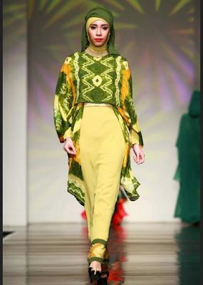 Model Baju Kerja Batik Sasirangan