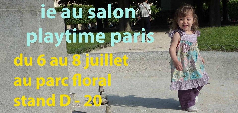Blog ieboutique june 2013 for Salon playtime paris