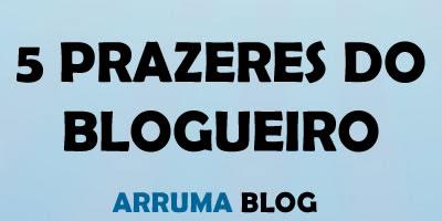 Você conhece os 5 prazeres de um blogueiro?