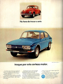 propaganda Volkswagen - TL - 1973. 1973. brazilian advertising cars in the 70. os anos 70. história da década de 70; Brazil in the 70s; propaganda carros anos 70; Oswaldo Hernandez;