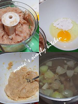 cara membuat bakso ayam udang