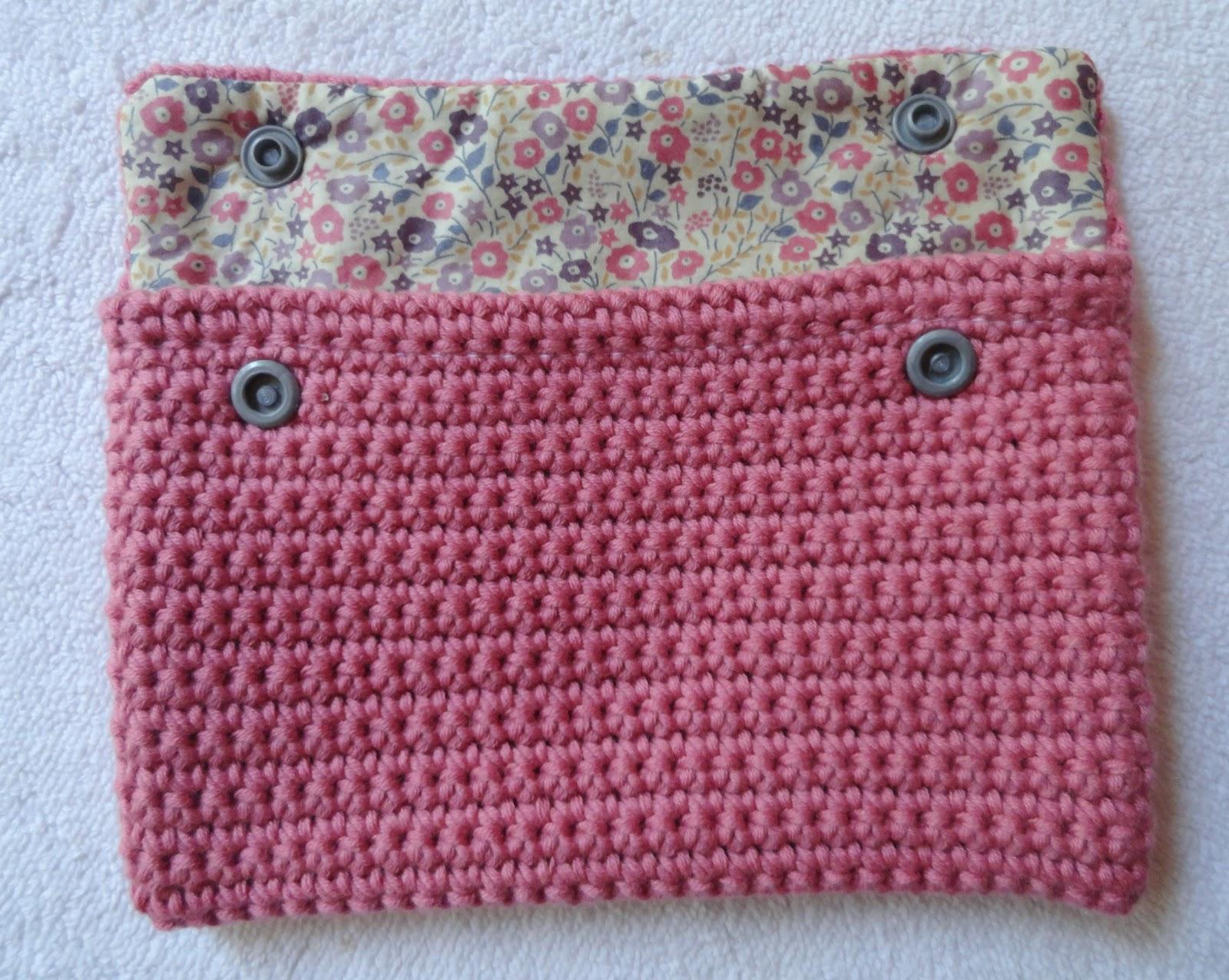 Libertylle Pochette Crochet Et Liberty Tuto Inside