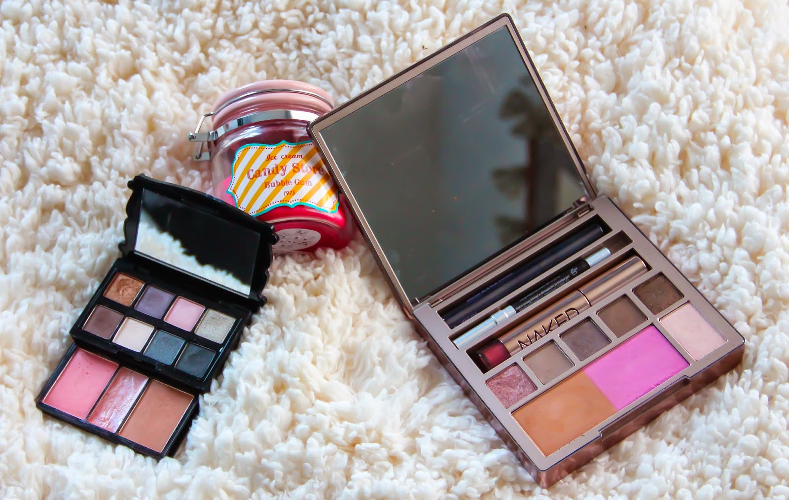 Palette Nomade Make up, blush, bronzer