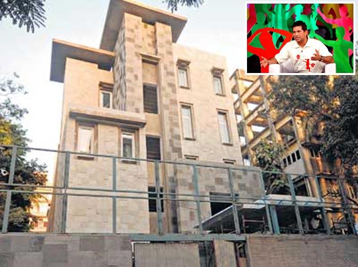 Kmhouseindia Sachin Tendulkar 39 S New Home