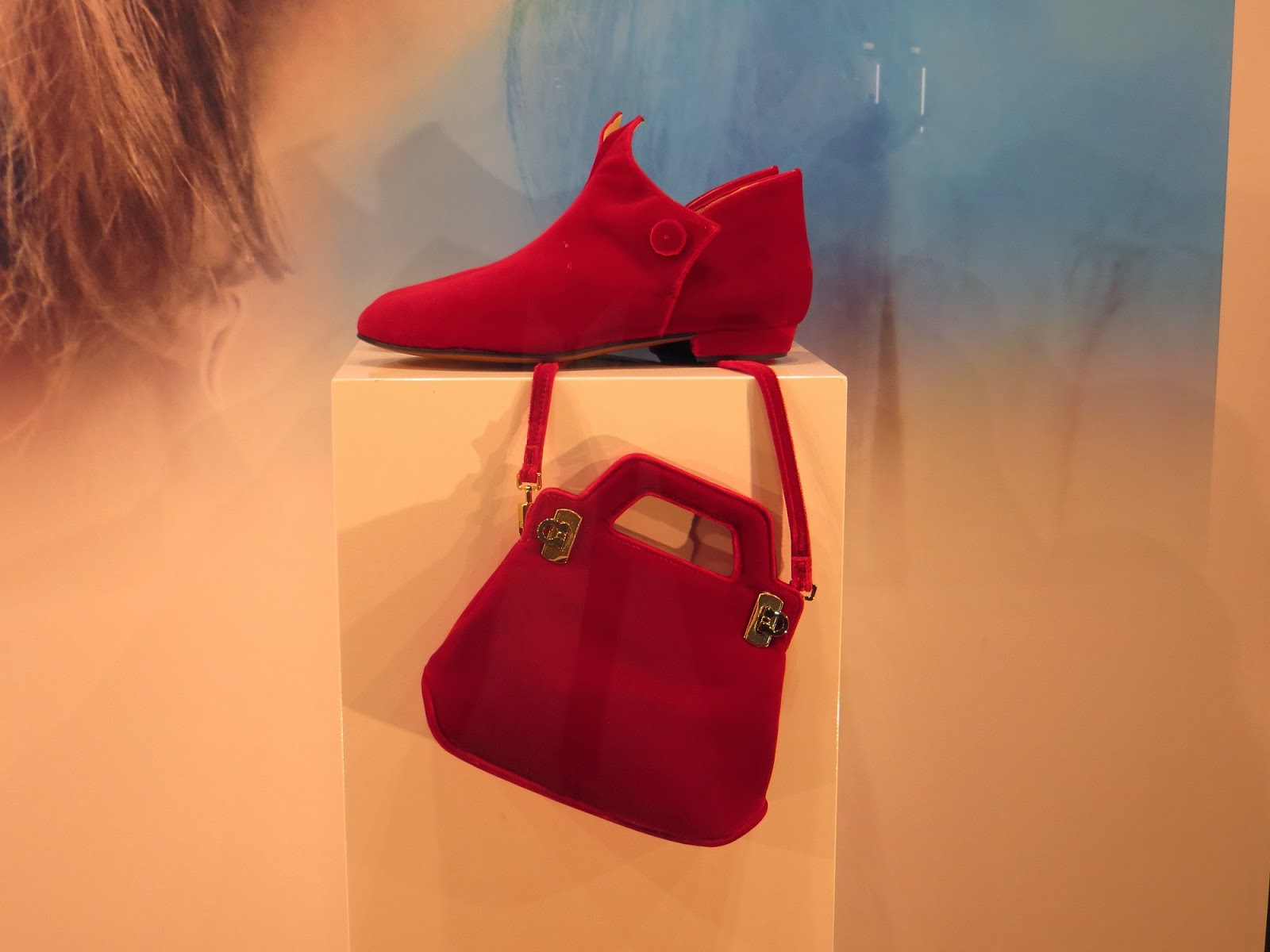 Brigitte Bardot's Shoes and Purse, Florence, Italy