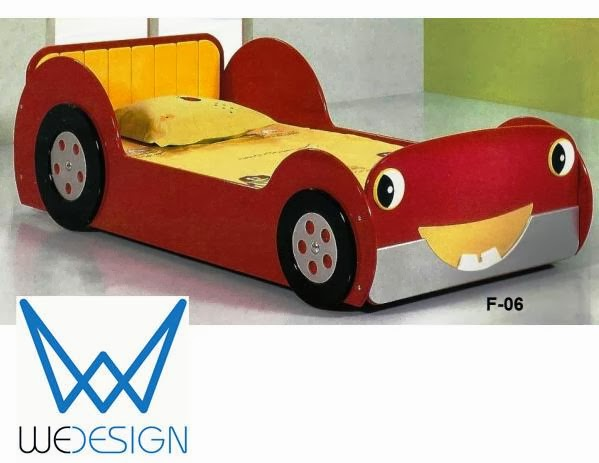 Giường ngủ ô tô ngộ nghĩnh cho bé