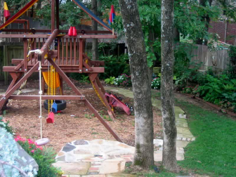Backyard landscaping ideas for kids playground design ideas Kids garden ideas