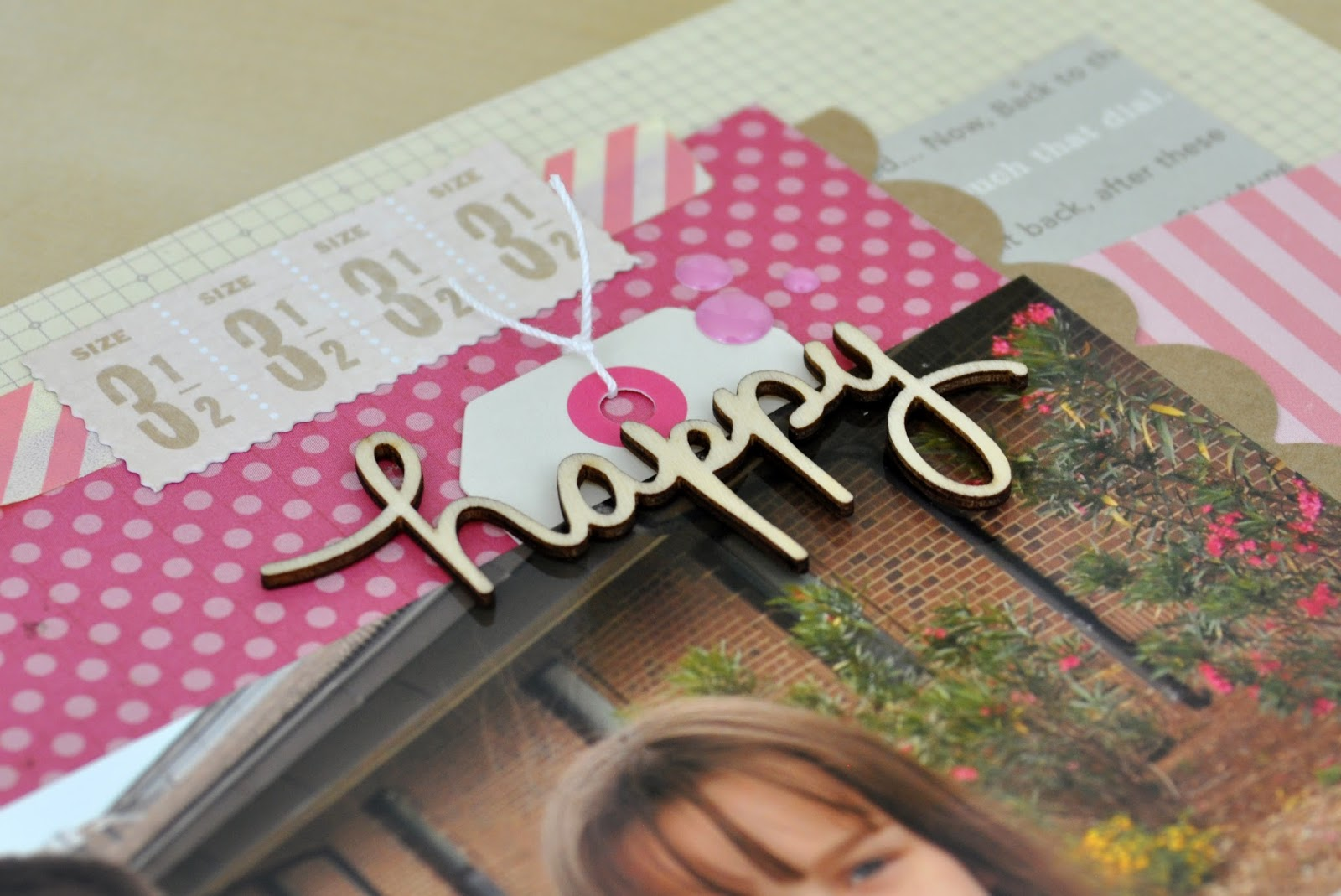 Happy Memories Made Scrapbooking Process Video by Jen Gallacher on www.jengallacher.com