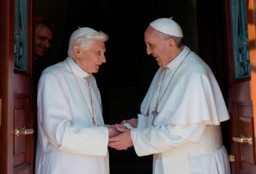 Papa Francisco homenageia Bento XVI e destaca o seu grande amor pela verdade