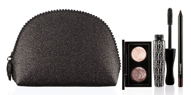 MAC Keepsakes Brown Eye Bag