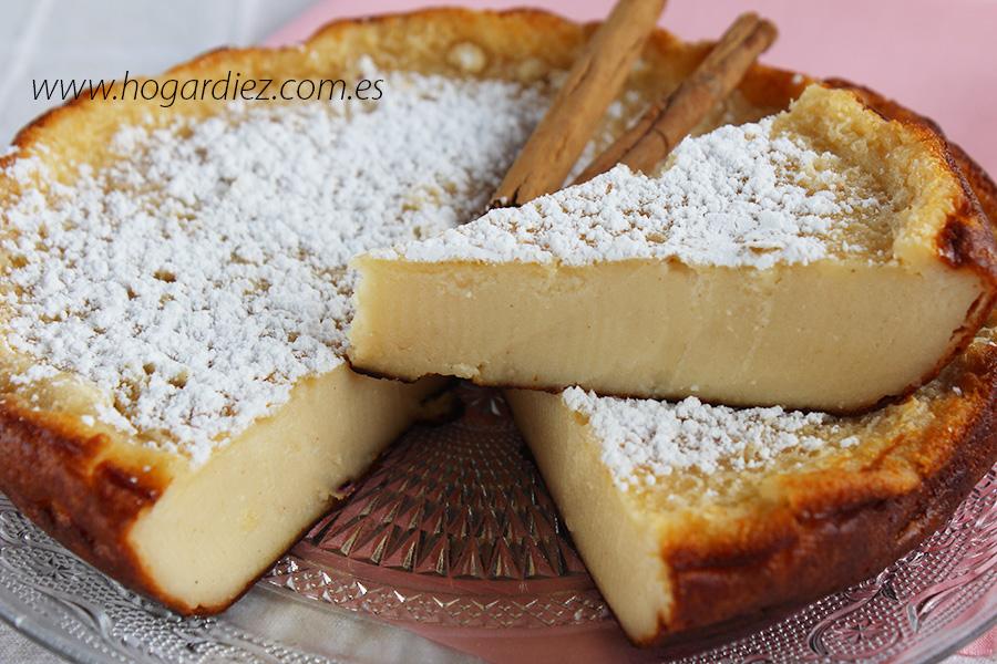 Hogar diez tarta de queso con yogur - Postres con queso de untar ...
