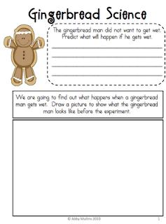 http://www.teacherspayteachers.com/Product/Gingerbread-Science