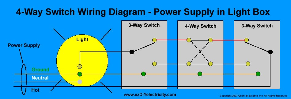 Saima Soomro: 4-way-switch-wiring-diagram on 3-way switch diagram, four-way switch diagram, 4-way circuit diagram, 4 wire switch diagram, 4 way to 4 way switch, 4-way lighting diagram,