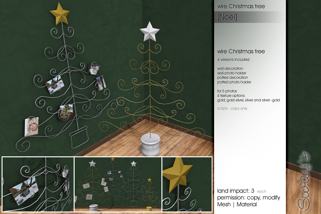 Sway\'s: Wire Christmas tree